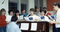 1989: Director Vince Rock at Ensemble Rehearsal