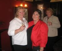 Dee and Lesley in Weybridge pub