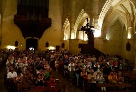 Audience in Sarlat