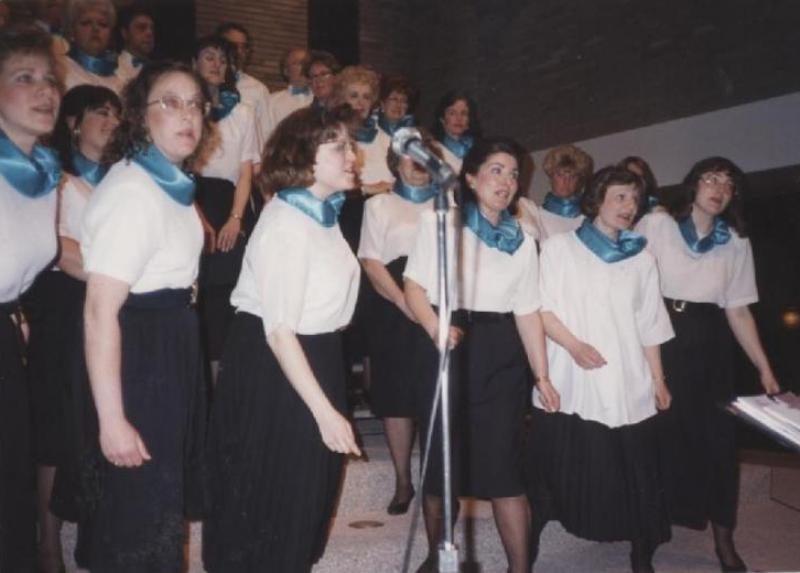1993: Spring Concert, Women's Ensemble