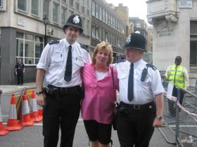 IMG_0852 pam with the london bobbies